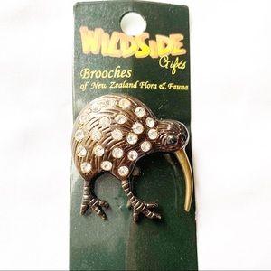 Kiwi Brass Pendant
